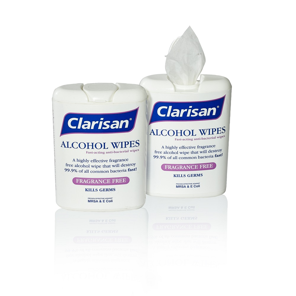 Alcohol-Free Hand Sanitising Wipes