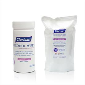 Tubs of Alcohol Disinfectant Wipes (200)