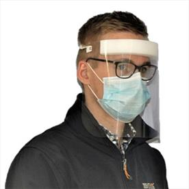 Full Face Visor with Forehead Comfort Band